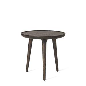 accent sofabord i small fra mater i sirkagrå lakeret