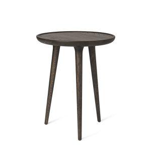 accent sofabord i medium fra mater i sirkagrå lakeret