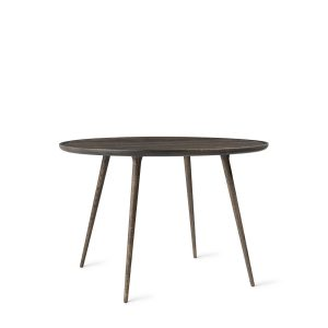 accent spisebord Ø110 fra mater i sirkagrå lakering