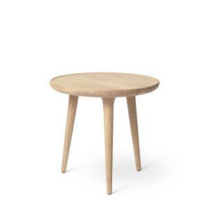 accent sofabord small fra mater i mat hvidlakeret