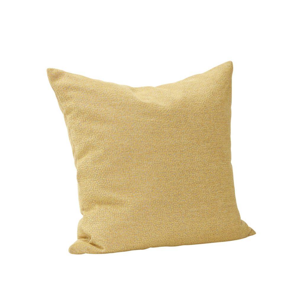 pyntepude med fyld i gul fra hübsch