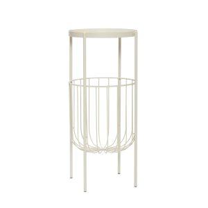 konsolbord i grå metal fra hübsch