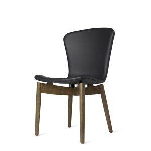spisebordsstol fra mater i sirka grå og sort