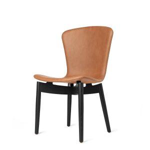 spisebordsstol fra mater i sort og ultra brandy