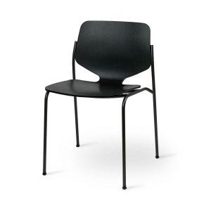 nova spisebordsstol fra mater i sort