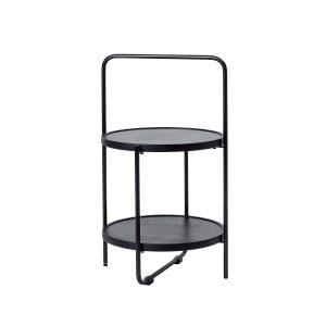 mini tray table bakkebord i sort fra andersen furniture