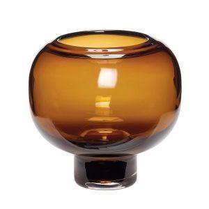 ravgulfarvet vase fra hübsh