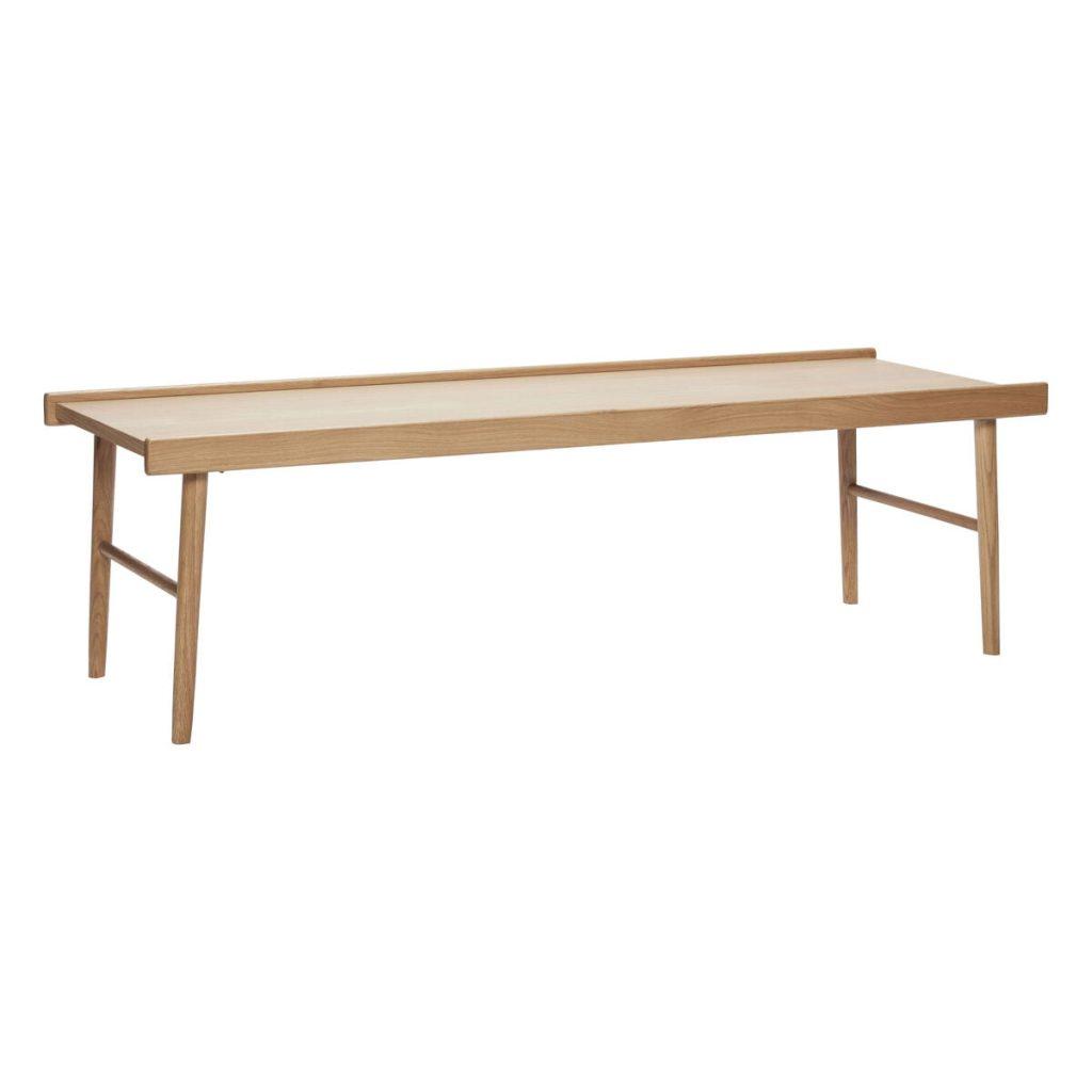 bord med kant i egetræ fsc fra hübsch