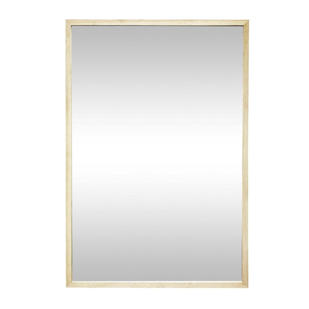 firkantet vægspejl fra hübsch