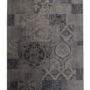 Tæppe Hudson med sort/grå mønster fra muubs