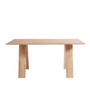 Spisebord Angle, Eg Natur/hvidolieret fra muubs