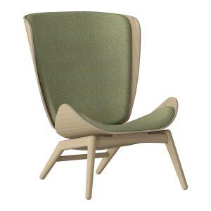 the reader lænestol i eg og spring green fra umage