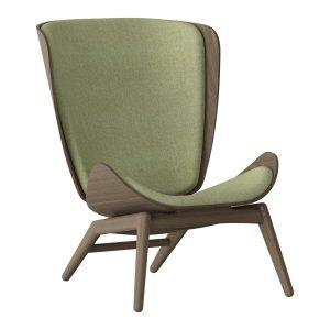 the reader lænestol i mørk eg og spring green fra umage