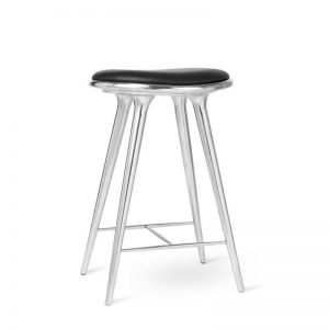 high stool barstol H69 i aluminium fra mater
