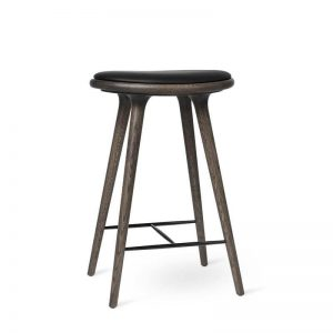 high stool barstol H69 i sirkagrå fra mater