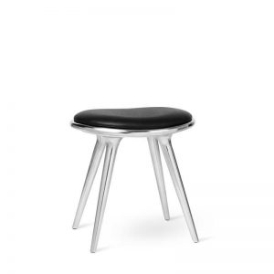 low stool skammel i aluminium fra mater