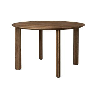 rundt comfort circle spisebord Ø120 i mørk eg fra umage